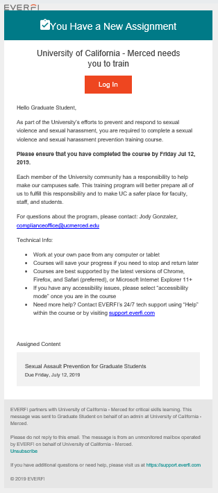 Image of Invite: UC Merced needs you to train